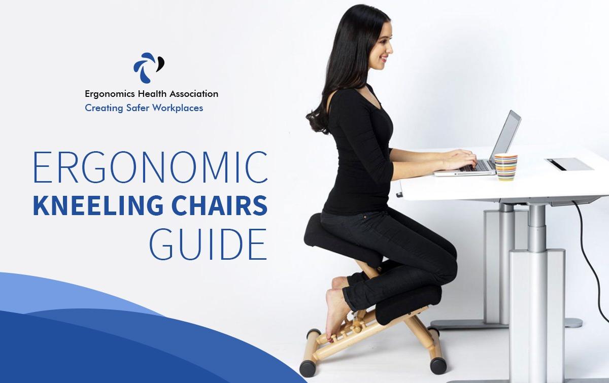 Luxury Memory Foam Adjustable Ergonomic Kneeling Comfort Posture Office Chair